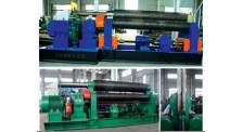 机械式三辊对称卷板机