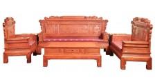 南昌红木办公家具沙发生产