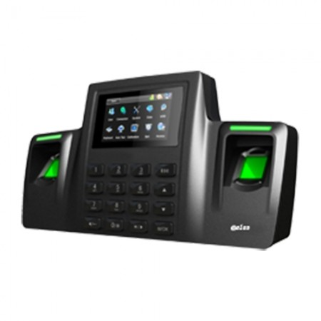 苏州中控智慧DS100双指纹考勤机指纹签到打卡机
