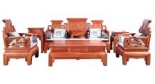 宏木方沙发厂家高档红木沙发销售