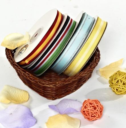 多彩间色织带