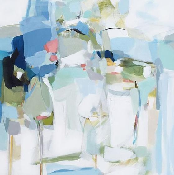 抽象写意油画
