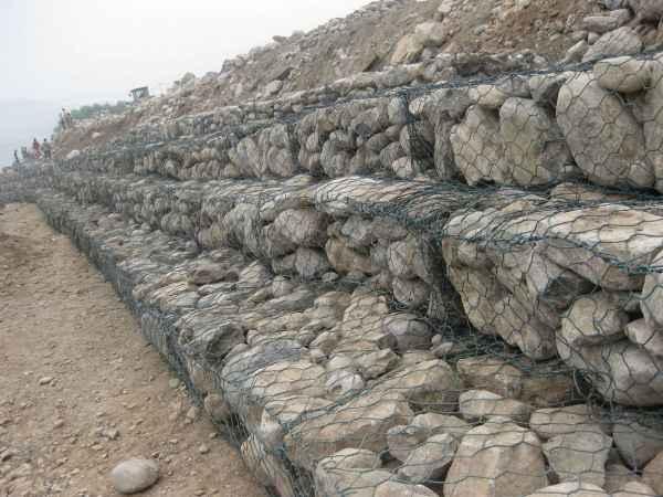 水利工程铅丝石笼网
