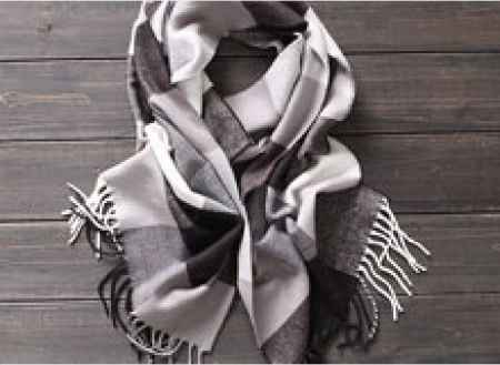 全羊绒女士冬季围巾定制