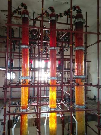 蒸馏提纯溴素塔
