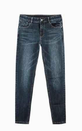 男士加绒牛仔裤