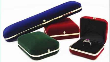 植绒首饰包装盒