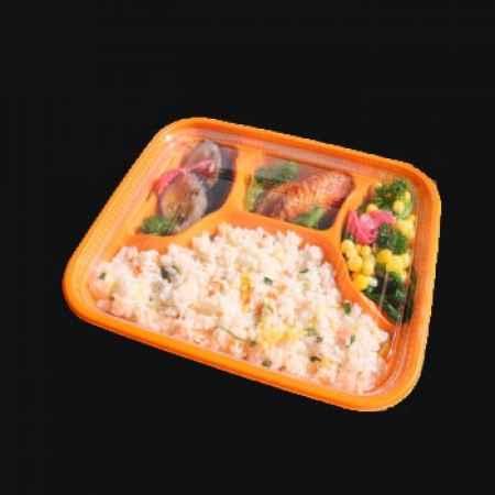 山东青岛一次性塑料快餐打包便当盒