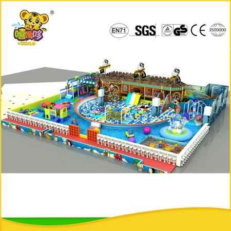海盗船主题大型室内儿童乐园