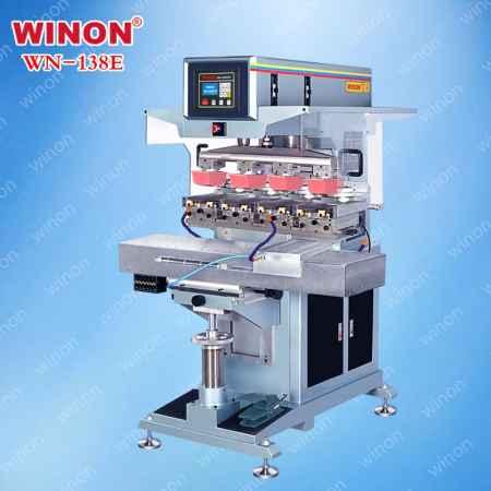 300型油盅式四色移印机
