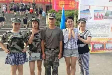 夏令营军事训练