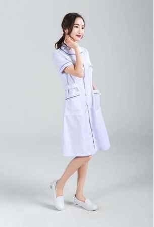 夏装护士服加工定做