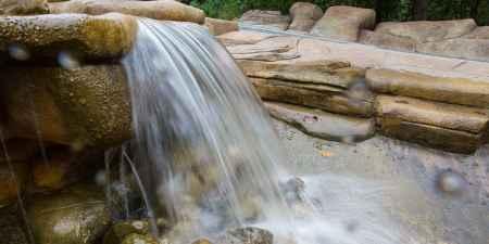 峡谷瀑布风景区路线