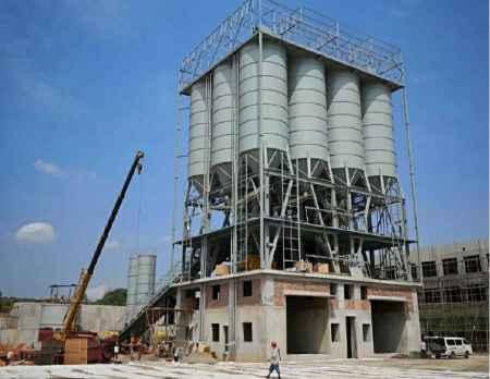 郑州粉仓顶置环保型搅拌站生产厂家