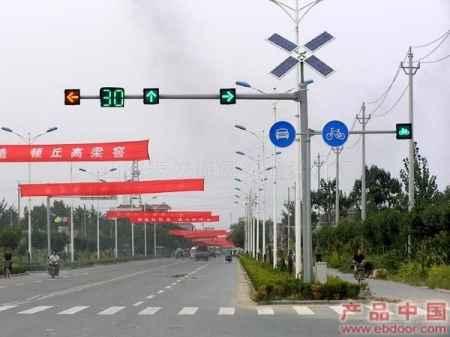 交通信号灯杆件